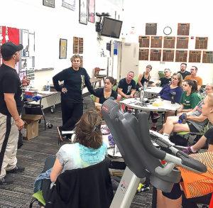 Fran Davis & Jason Mannino summarizing a great day at the Portland, OR camp October 2016.